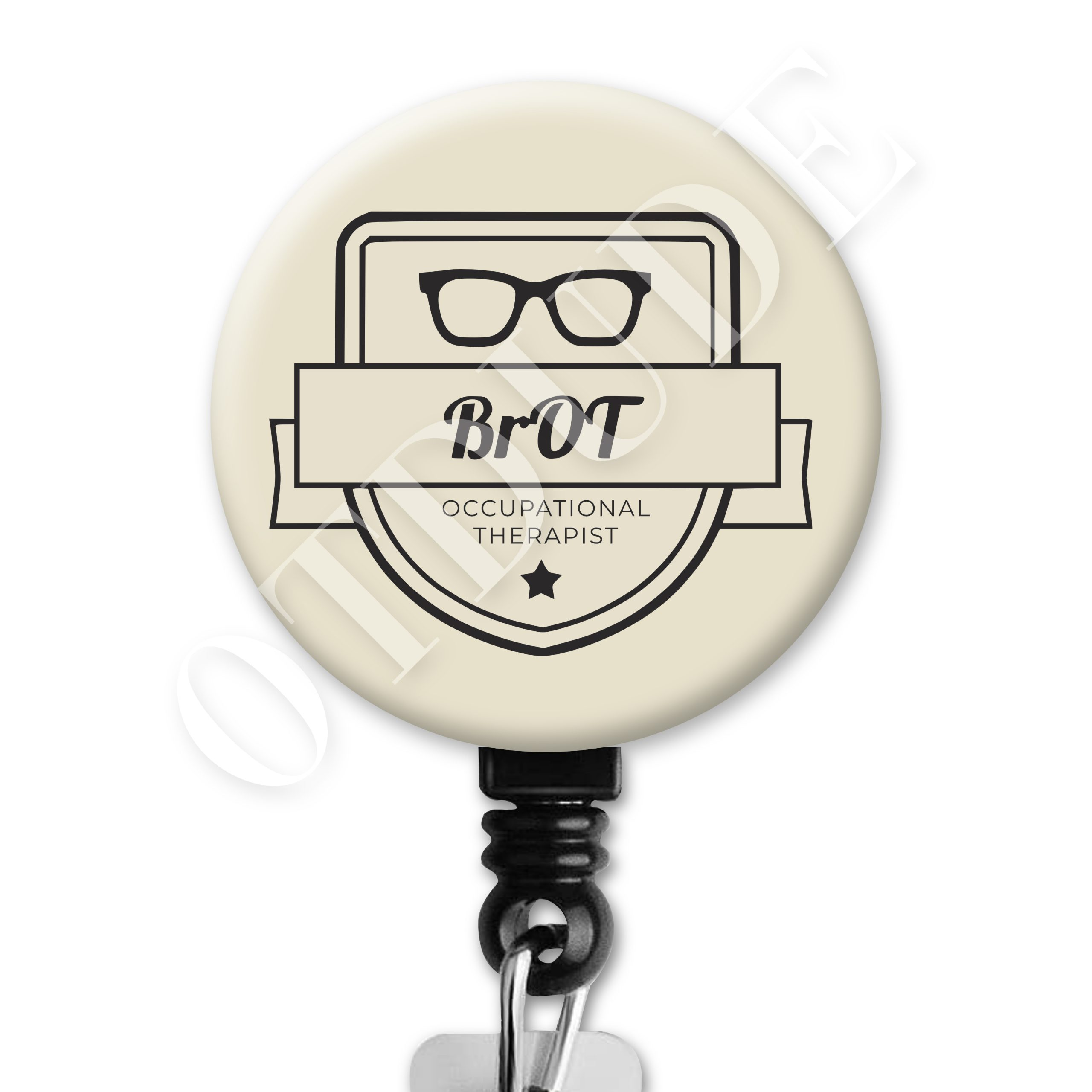 Bro-T / BrOT Four - Occupational Therapy ID Badge Reel