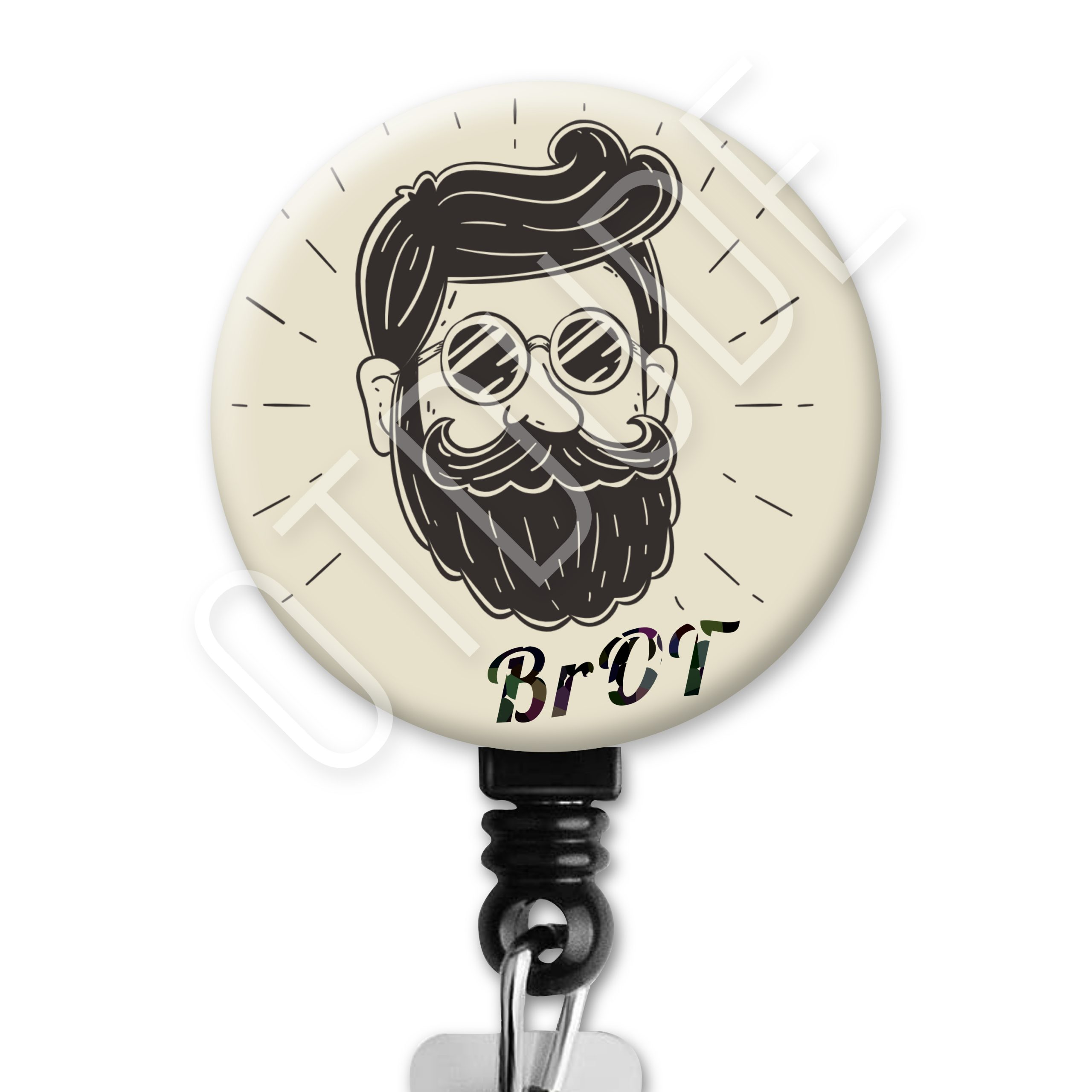 Bro-T / BrOT Two - Occupational Therapy ID Badge Reel