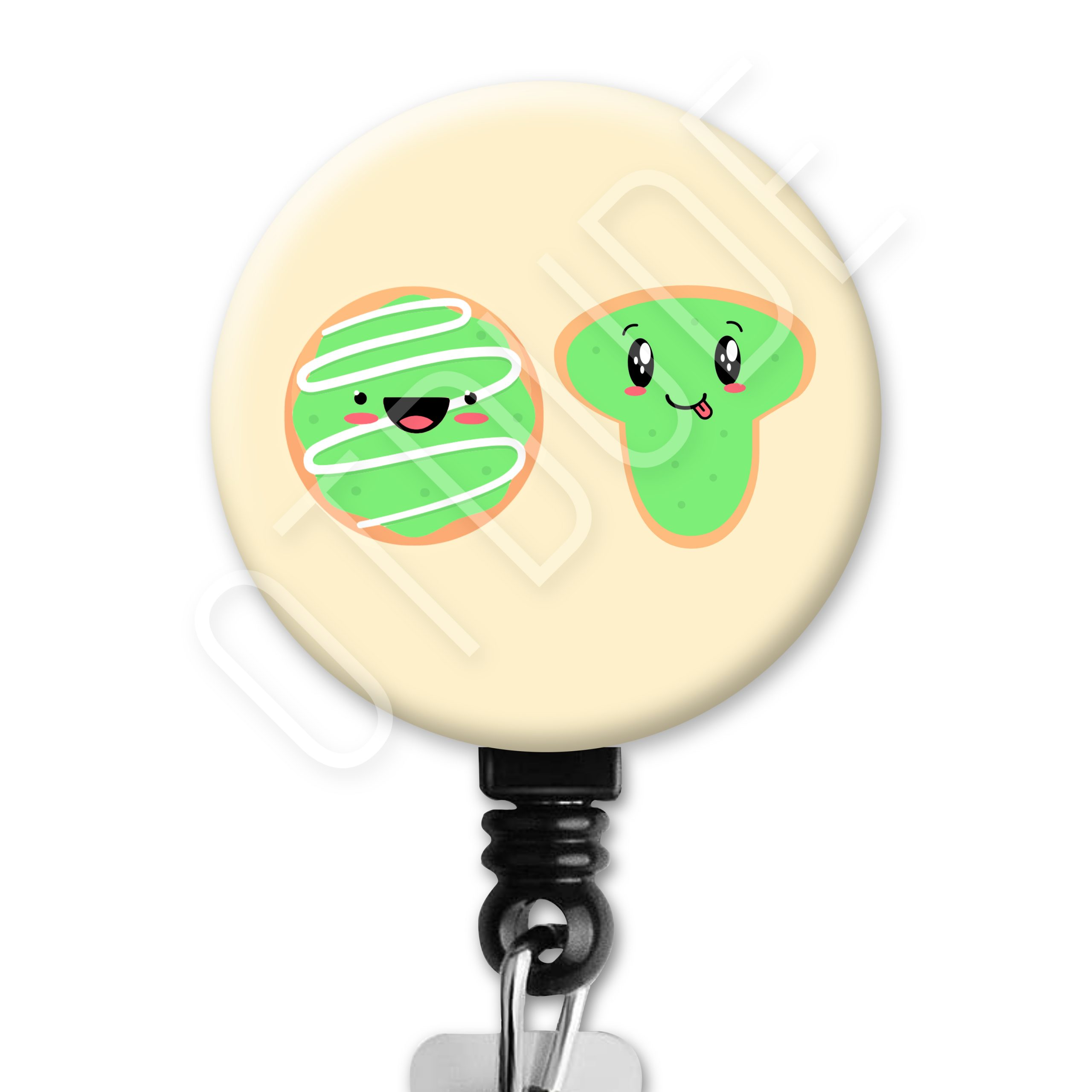Kawaii Pastries OT Occupational Therapy Badge Reel