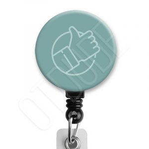 Thumbs Up Occupational Therapy Badge Reel Product Image